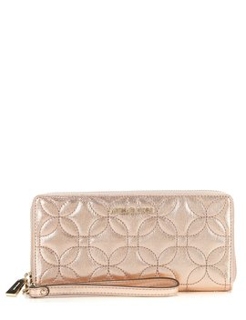 Quilted Travel Continental Wallet by Michael Michael Kors