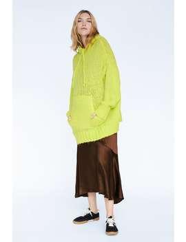 Oversized Sweater With Hood  Mum Knitwear Woman by Zara
