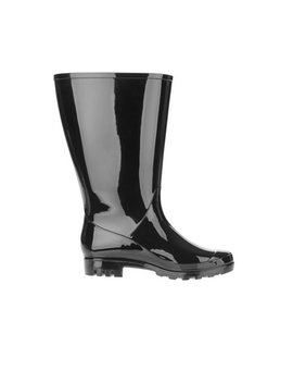 Time And Tru Women's Wide Calf Rain Boot by Time And Tru