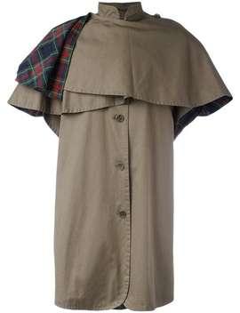 Caped Coat by Yves Saint Laurent Vintage