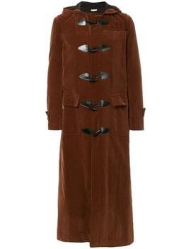 Velvet Long Coat by Comme Des Garçons Vintage