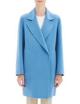 Wool & Cashmere Boy Coat by Theory