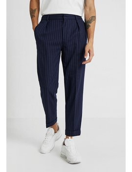 Pinstripe Taper   Pantalon Classique by Topman