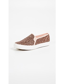 X Kate Spade Double Decker Slip On Sneakers by Keds