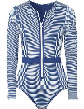 Gigi Striped Swimsuit by Duskii