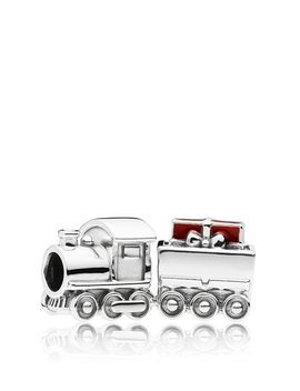 Sterling Silver & Enamel Christmas Train Charm by Pandora