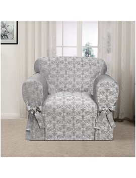 Astoria Grand Box Cushion Armchair Slipcover & Reviews by Astoria Grand