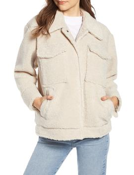 Faux Shearling Jacket by Something Navy
