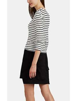 Striped Cotton Blend T Shirt by Atm Anthony Thomas Melillo
