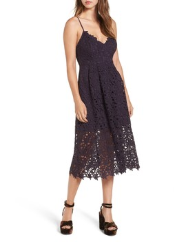 Lace Midi Dress by Astr The Label