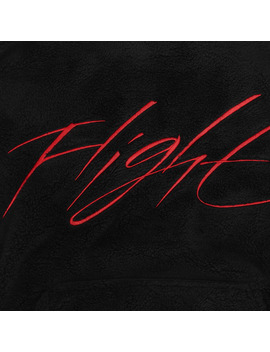 Wings Of Flight Hooded Sweatshirt Black / Gym Red by Jordan