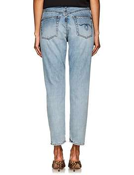 Milf High Rise Straight Leg Jeans by R13