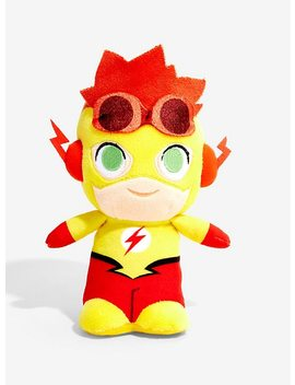 Funko Dc Young Justice Super Cute Plushies Kid Flash Plush Collectible Hot Topic Exclusive by Hot Topic