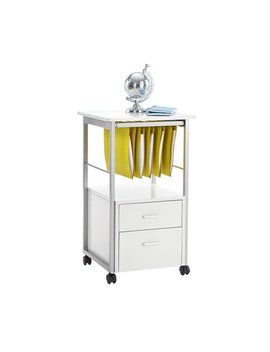 "Brenton Studio Halton File Cabinet, 30""H X 17 3/4""W X 17 3/4""D, White by Brenton Studio"