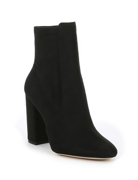Aurella Suede Block Heel Booties by Aldo