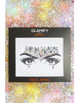 Glamify Silver Unicorn Crown All In One Face Jewels by Misspap