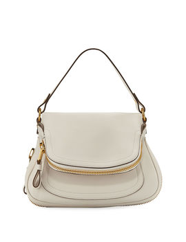 Jennifer Medium Grained Leather Shoulder Bag by Tom Ford
