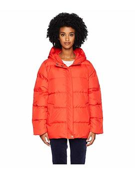 Quilted Recycled Nylon Hooded Coat by Eileen Fisher