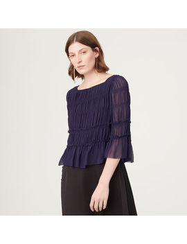 Hylda Silk Top by Club Monaco