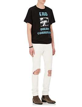 """Erd Dream Corrosion"" Cotton Jersey T Shirt by Enfants Riches Deprimes"