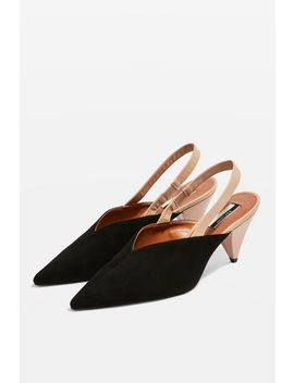 Jumbo Slingback Court Shoes by Topshop
