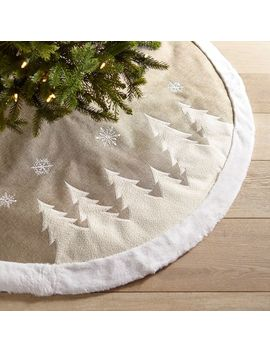 Natural Trees Tree Skirt by Pier1 Imports