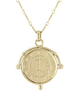 Zodiac Pendant Necklace by Lulu Dk