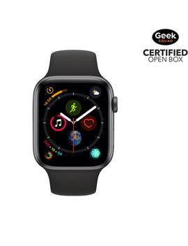 Apple Watch Series 4 (Gps + Cellular) 44mm Space Grey Aluminium Case With Black Sport Band  Open Box by Apple