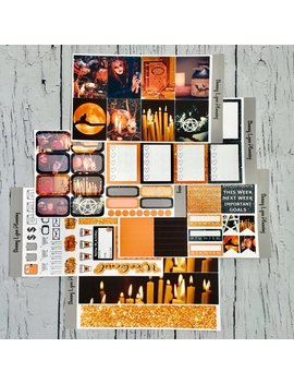 The Witching Hour Weekly Kit/A La Carte   Ec Vertical/Ec Horizontal/Happy Planner by Etsy