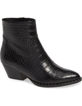 Wesley Cowboy Bootie by Something Navy