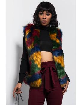 Never Let You Go Fur Vest by Akira
