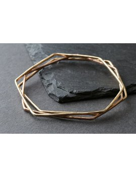 Hex Bangle by Etsy