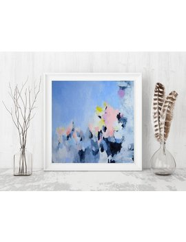 Abstract Painting Giclée Print, Modern Decor Art Print, Abstract Giclée Print Modern Painting By Julianne Strom by Etsy