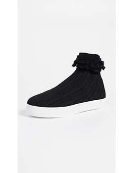 Bobby Lace Sneakers by Opening Ceremony