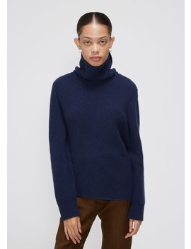 Long Sleeve Turtleneck Sweater by Cedric Charlier