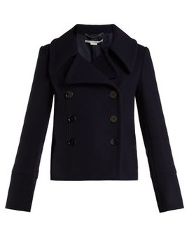 Double Breasted Wool Overcoat by Stella Mc Cartney