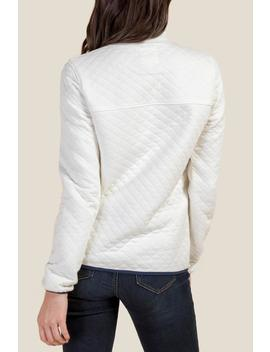 Melody Quilted Pullover by Francesca's