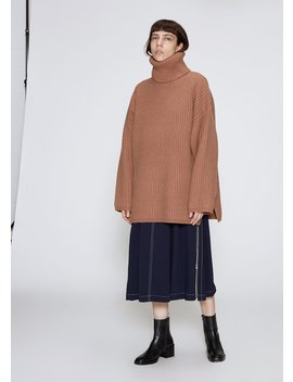 Long Sleeve Oversized Turtleneck by Acne Studios