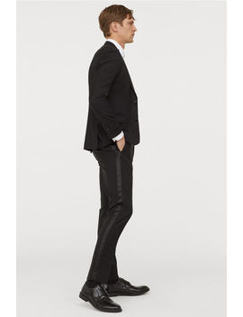 Tuxedo Pants Skinny Fit by H&M