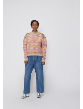 Long Sleeve Striped Crew by Acne Studios