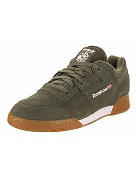 Reebok Men's Workout Plus Eg Fashion Sneakers Army Green/White/Gum by Reebok