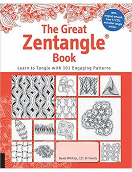 The Great Zentangle Book: Learn To Tangle With 101 Favorite Patterns by Beate Winkler