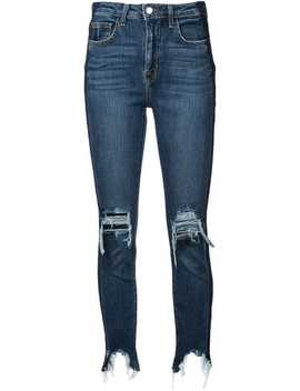 High Line High Rise Skinny Jeans by L'agence