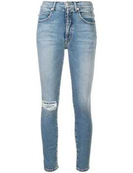 Ripped Skinny Jeans by Adaptation