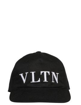 Valentino Garavani Vltn Logo Baseball Cap by Valentino Garavani