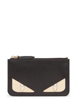 Monster Leather Key Pouch by Fendi