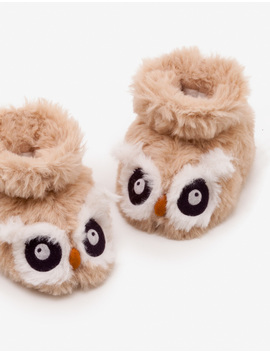 Owl Slippers by Boden