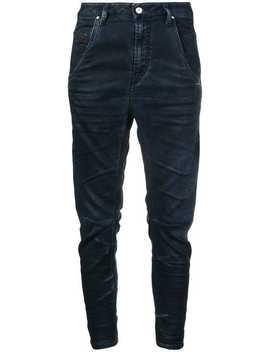 Cropped Tapered Trousers by Diesel