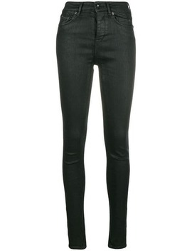 Stretch Straight Leg Jeans by Rick Owens Drkshdw