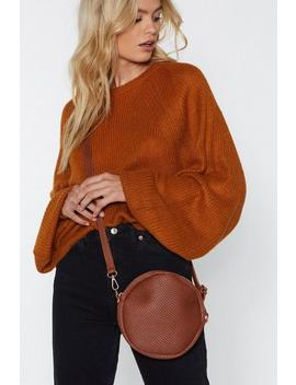Want Weave It Out Circle Bag by Nasty Gal